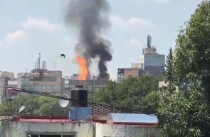 #فيديو انفجار أعقب زلزل مدمر ضرب المكسيك