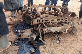 """قتلى وجرحى في تفجير """"مفخخة"""" بمخيم الركبان للاجئين السوريين"""