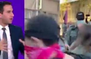 مشاهد قوية .. متظاهرون يحاولون اقتحام مقر نتنياهو
