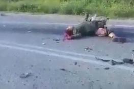 مشاهد جديدة لعملية الدهس قرب جنين تُظهر الجنود القتلى عن قرب
