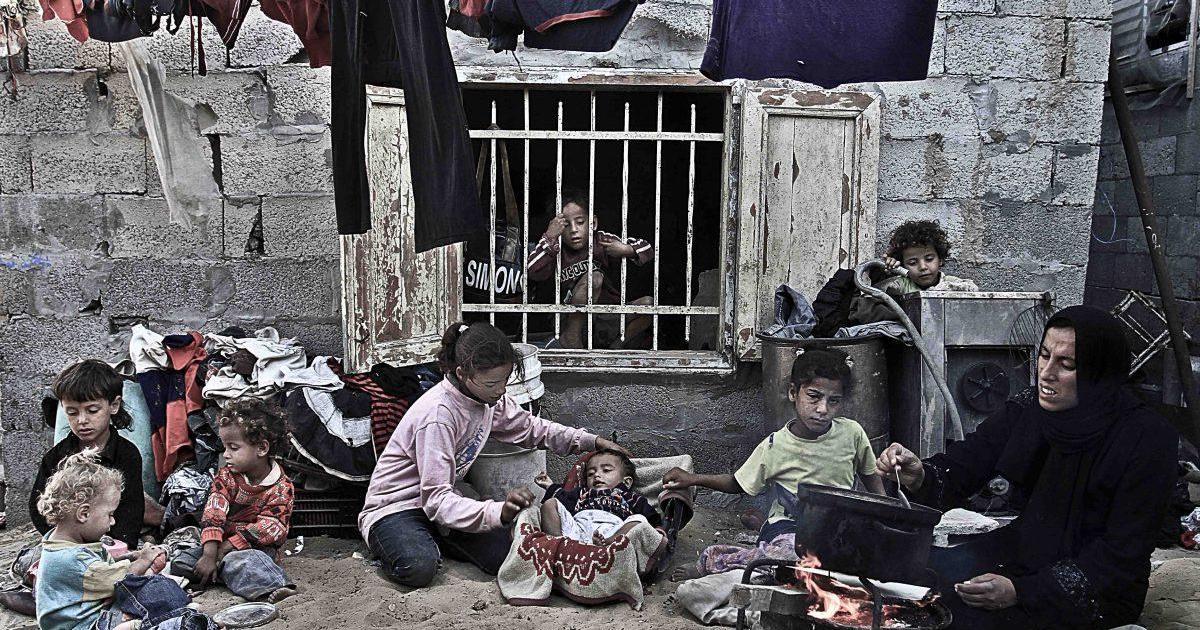 نتيجة بحث الصور عن الفقر والحرمان في غزة