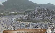 #مباشر الحجاج يصعدون جبل عرفات لأداء الركن الأعظم فى الحج