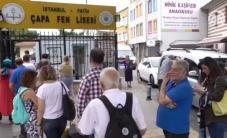 #فيديو من عملية الاقتراع في الانتخابات الرئاسية والبرلمانية التركية
