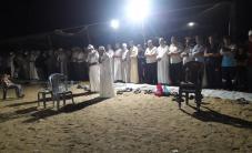 #مباشر إقامة صلاة العشاء والتراويح في مخيم العودة شرق المحافظة الوسطى