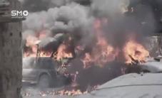 #شاهد توثيق قصف النظام مدينة دوما بريف دمشق بقنابل