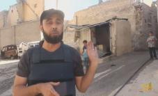 قصف بالقنابل الفوسفورية الحارقة يستهدف أحياء مدينة #حلب جولة: أحمد عبد الرحمن