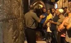 #فيديو : دعوات لوقف مسيرات المستوطنين على باب حطة فجر اليوم  #البوابات_لأ #لا_أنصاف_حلول