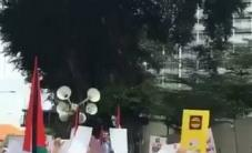 تظاهرة ماليزية دعماً للشعب الفلسطيني ونصرة للمسجد الأقصى