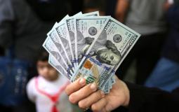 مساعدات نقدية ممولة من قطر