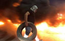 مواجهات مع قوات الاحتلال -أرشيف-