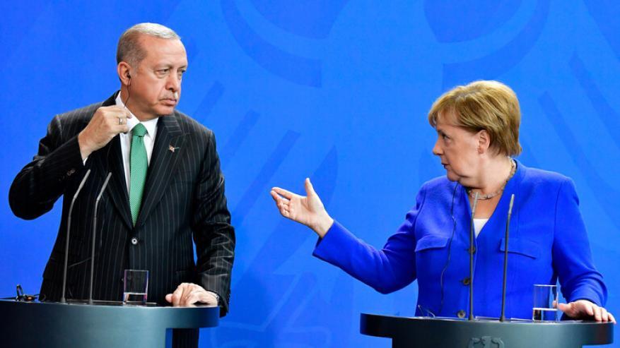 """الكشف عن سبب عدم حضور أردوغان لمأدبة عشاء """"مؤتمر برلين""""!"""