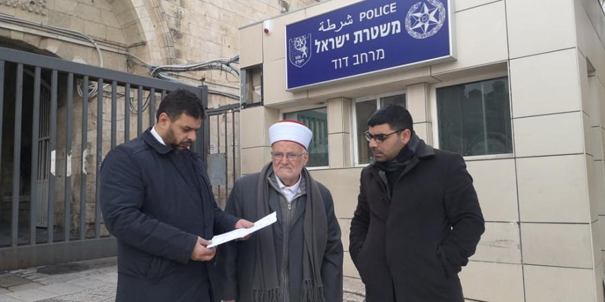"""الاحتلال يبعد رئيس الهيئة الإسلامية في القدس عن """"الأقصى"""" لمدة أسبوع"""