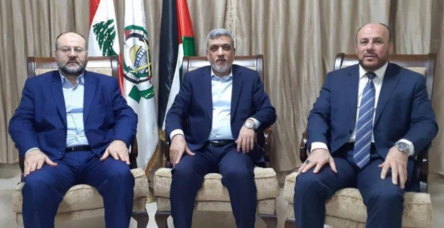 """""""عبد الهادي"""" يخلف """"بركة"""" في تمثيل حركة حماس في لبنان"""