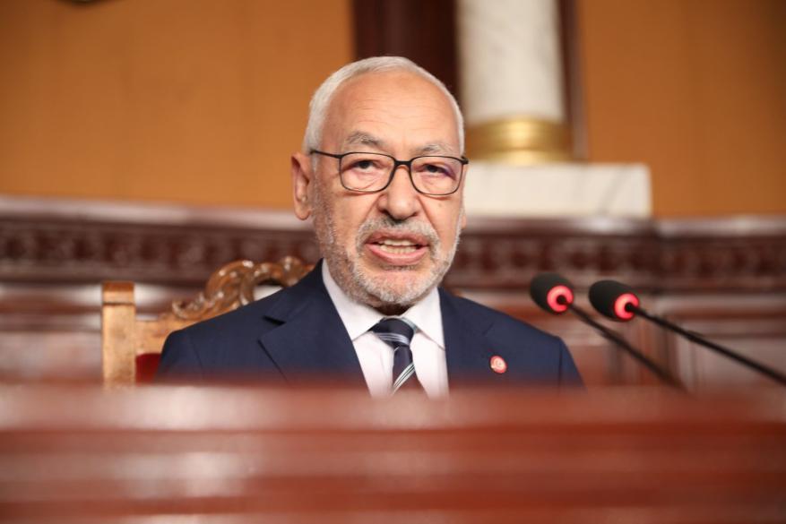 هنية يهاتف الغنوشي بعد تجديد الثقة له لرئاسة البرلمان التونسي