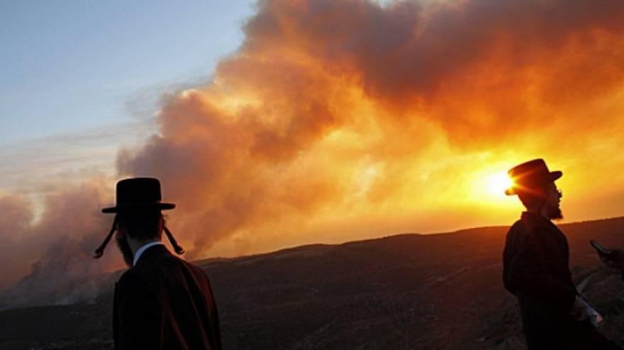 """8 حرائق في غلاف غزة وانفجارات في """"أشكول"""""""