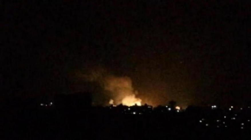 غارات إسرائيلية تستهدف مواقع قرب دمشق