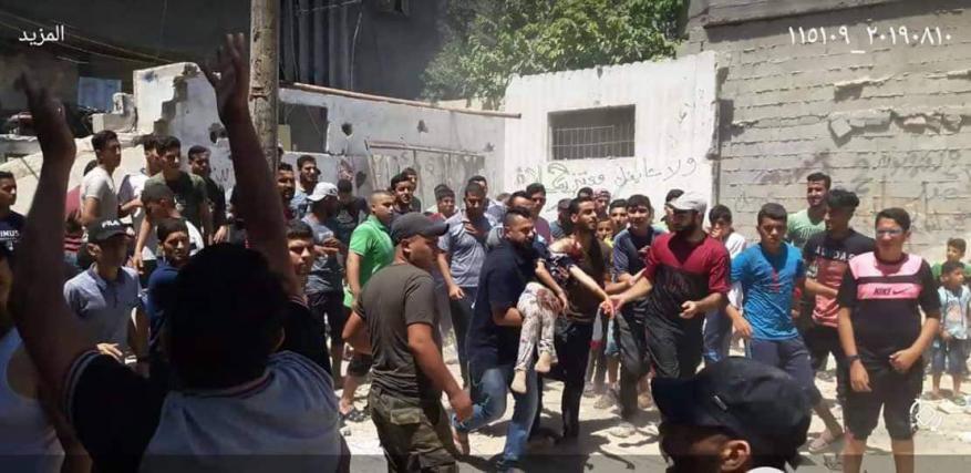 وفاة طفلة وإصابة 5 مواطنين جراء سقوط سقف منزل برفح