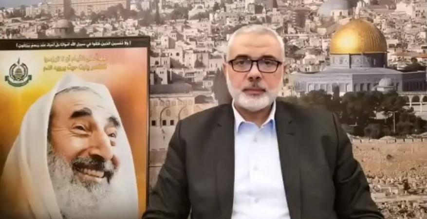هنية: الشيخ أحمد ياسين ظاهرة تاريخية وعلامة فارقة في تاريخ الأمة