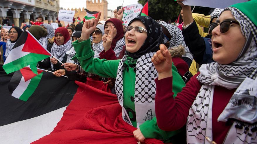 أحزاب مغربية تؤكد دعمها للفلسطينيين بمواجهة قرار الضم