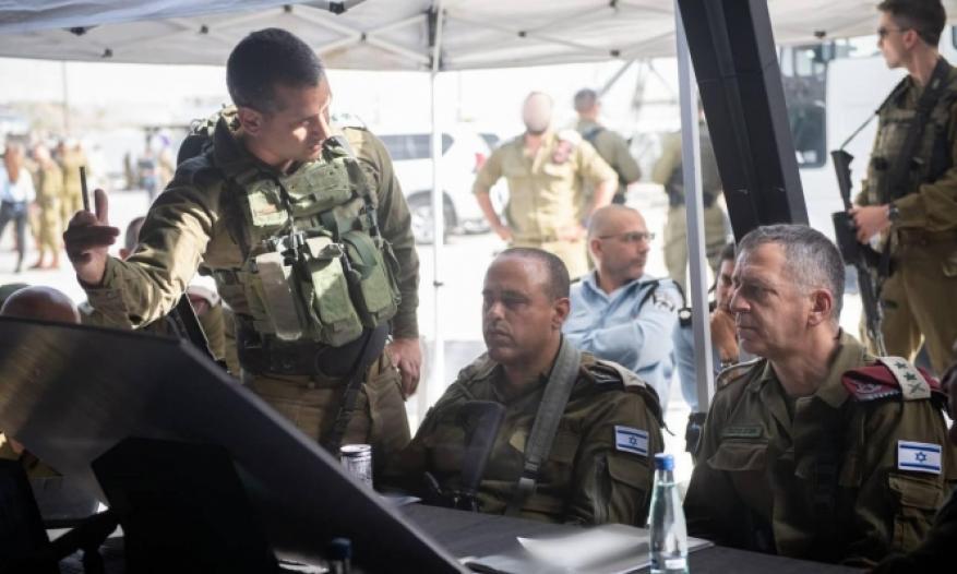 """كوخافي من مكان عملية """"زعترة"""": عمليات البحث عن منفذي العملية مستمرة"""