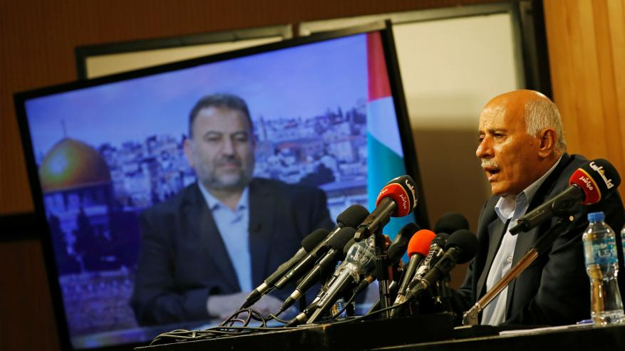 الرجوب يؤكد استمرار التواصل مع حماس لتحقيق المصالحة