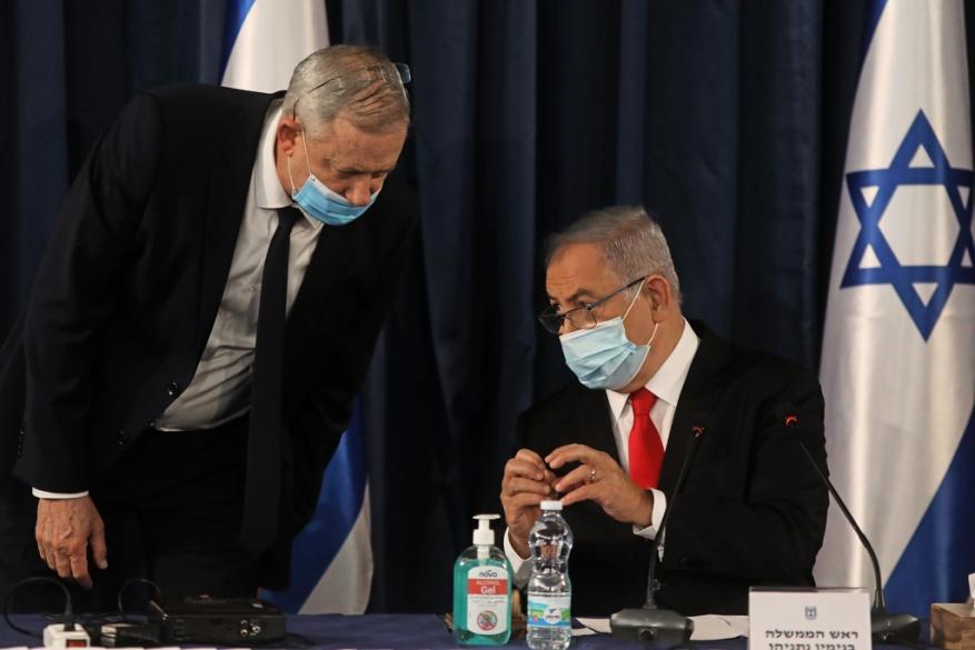 """نتنياهو ردًا على غانتس: الضم يسير بـ""""سرية تامة"""" وغير مرتبط بموقف """"أزرق أبيض"""""""