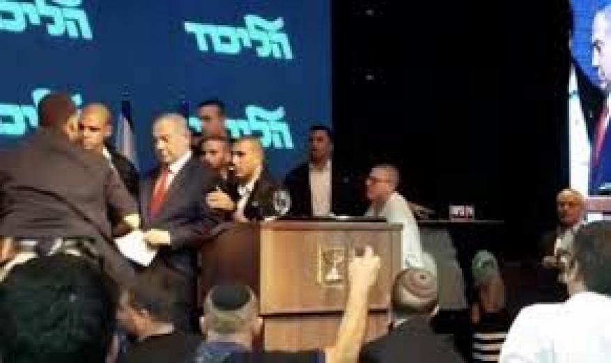 نتنياهو يحذف فيديو هروبه