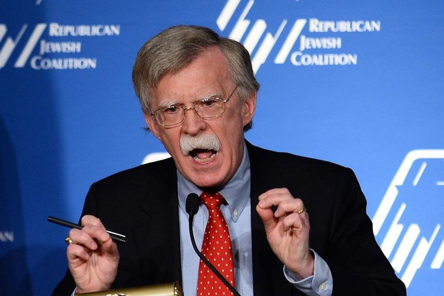 """بولتون يصل """"إسرائيل"""" لبحث القرار الأمريكي بالانسحاب من سوريا"""