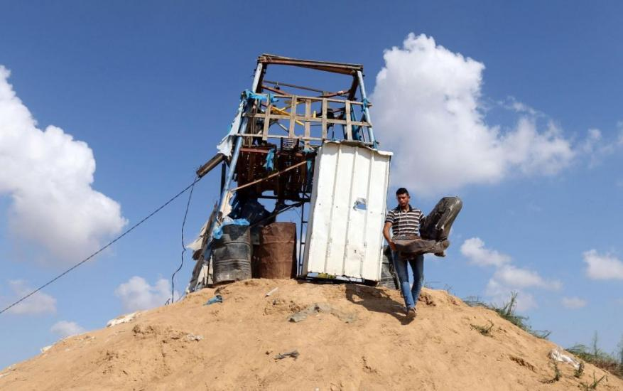 صواريخ من غزة والاحتلال يستهدف نقطتي رصد للمقاومة شمال القطاع