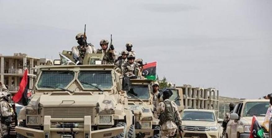 الحكومة الليبية: مليشيات حفتر تخرق وقف إطلاق النار لليوم الثالث
