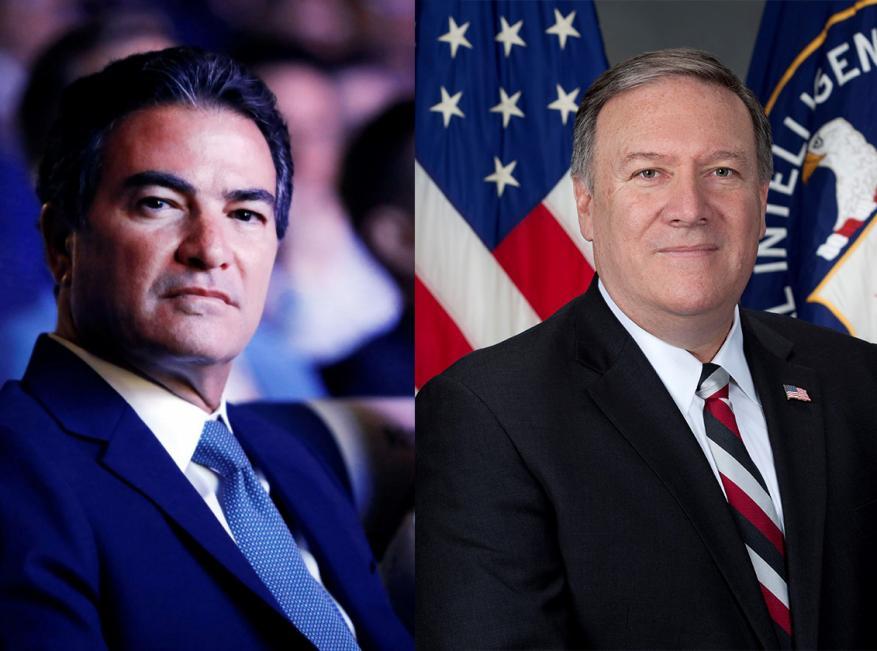 الكشف عن لقاء سري بين رئيس الموساد وزير الخارجية الأمريكي.. هذا ما دار بينهما