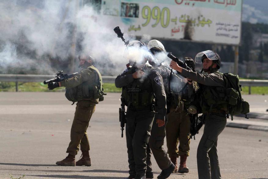 إصابات بالاختناق خلال مواجهات مع الاحتلال في سبسطية