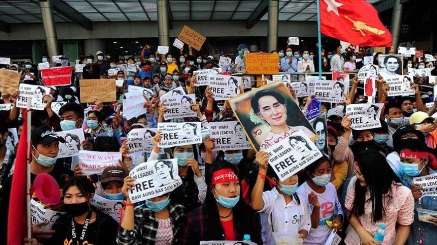 ميانمار.. الجيش يهدد مناهضي الانقلاب بالسجن 20 عاما