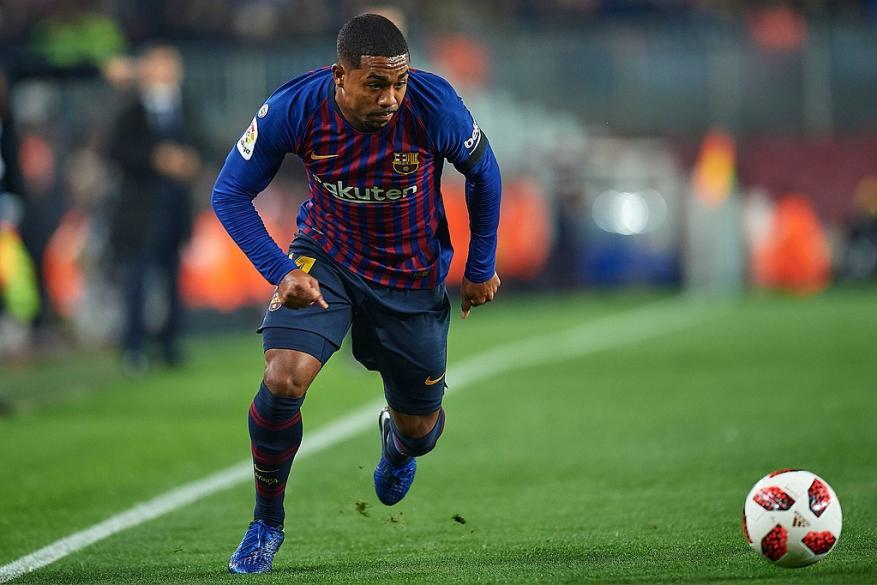 برشلونة يعلن عن طبيعة إصابة مالكوم ومدة غيابه