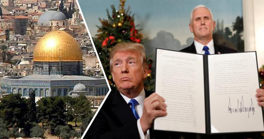 بعد عام على اعلانه نقل السفارة.. 12 قراراً خطيراً لترامب بحق القدس