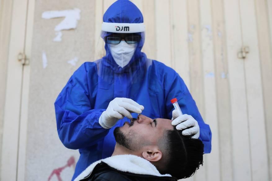 الصحة بغزة تُسجل أعلى حصيلة إصابات بفيروس كورونا منذ ظهور الوباء