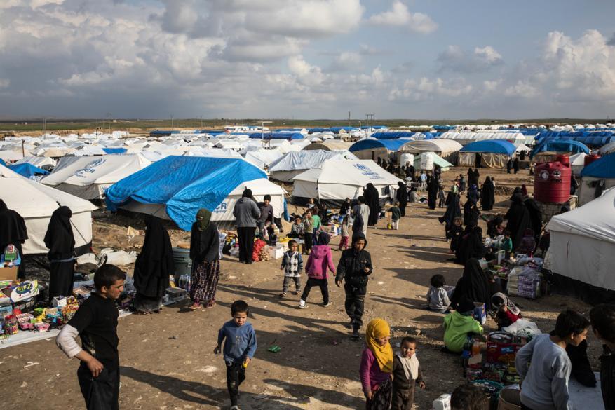 124 ألف مدني سوري ينزحون خلال عيد الأضحى