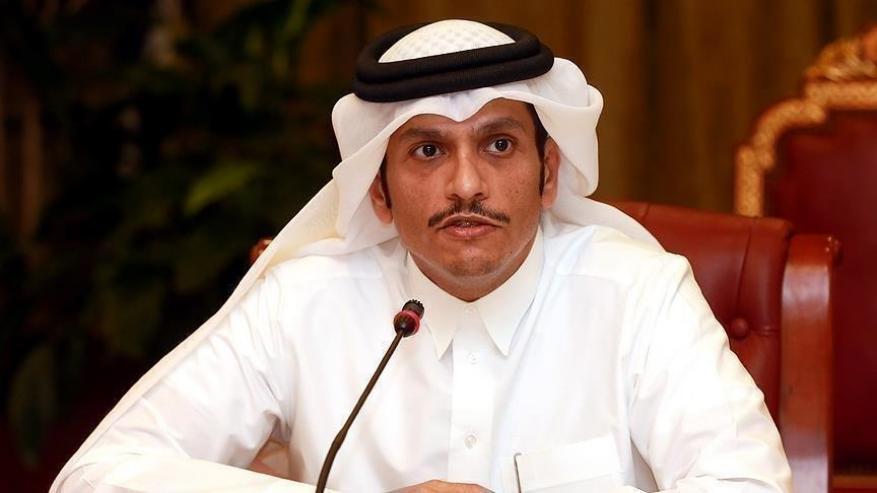 """وزير خارجية قطر يؤكد لـ""""الحريري"""" استمرار دعم بلاده للبنان"""