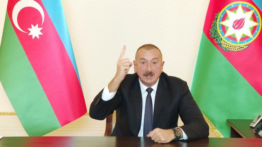 علييف: حررنا أكثر من 100 بلدة ومدينة في قره باغ وأرمينيا تتسلم يوميا أسلحة من الخارج