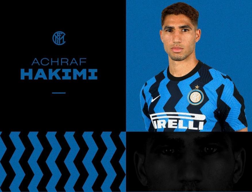 رسميا.. أشرف حكيمي ينضم إلى إنتر ميلان قادمًا من ريال مدريد