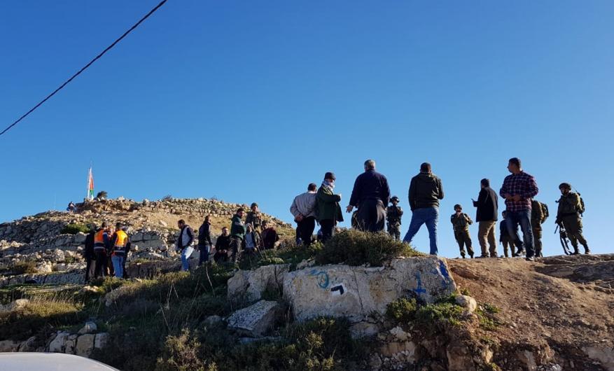 إصابة العشرات عقب اقتحام قوات الاحتلال جبل العرمة جنوب نابلس (فيديو)