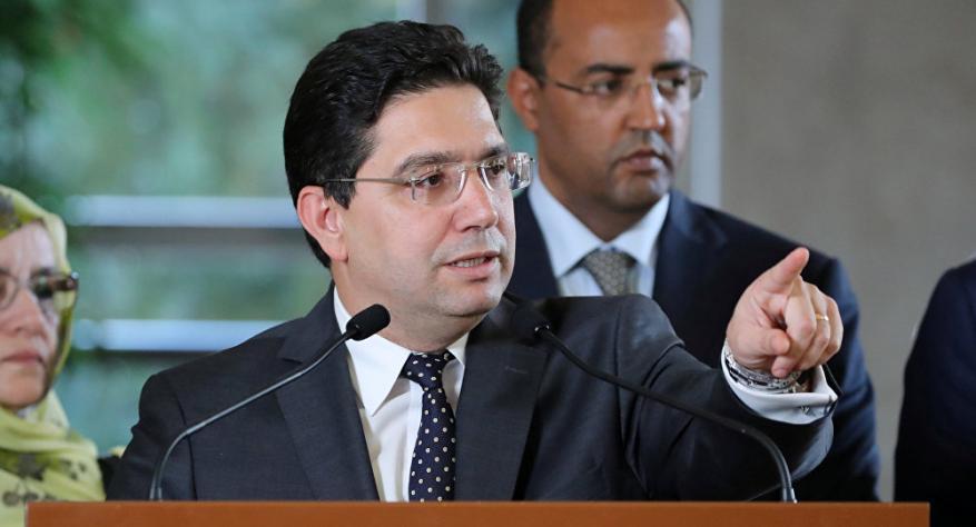 وزير خارجية المغرب: نقدر جهود ترمب لأنها تتحدث عن دولة للفلسطينيين.. وهي ليست قضيتنا الأولى