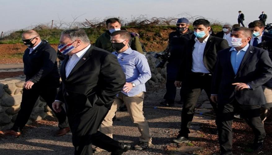 إيران تدين زيارة بومبيو للمستوطنات والجولان: خيانة الحكام العرب السبب