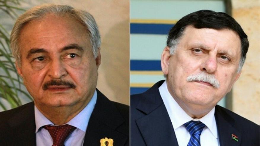 حفتر والسراج يعقدان محادثات اليوم في موسكو بمشاركة ممثلين عن روسيا وتركيا