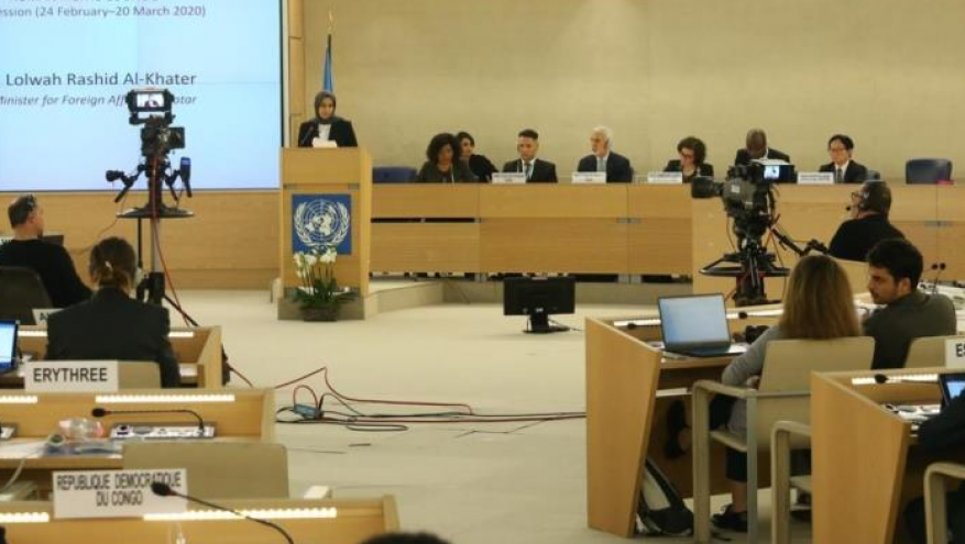 في اجتماع أممي.. قطر: الحصار يستهدف القطريين على أساس عنصري