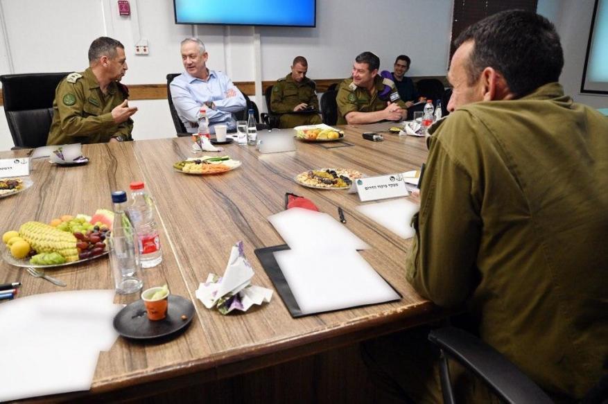 غانتس: التوتر مع غزة لن يختفي وسيبقى معنا لبضع سنوات