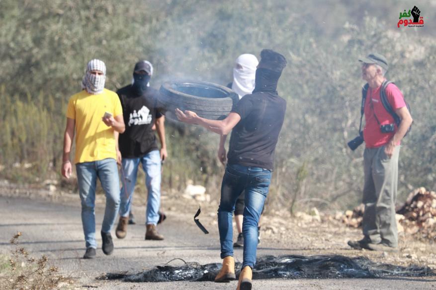 إصابة العشرات اثر قمع الاحتلال مسيرة كفر قدوم الأسبوعية