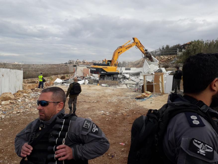 """""""أوتشا"""": الاحتلال هدم 506 مباني منذ بداية العام"""