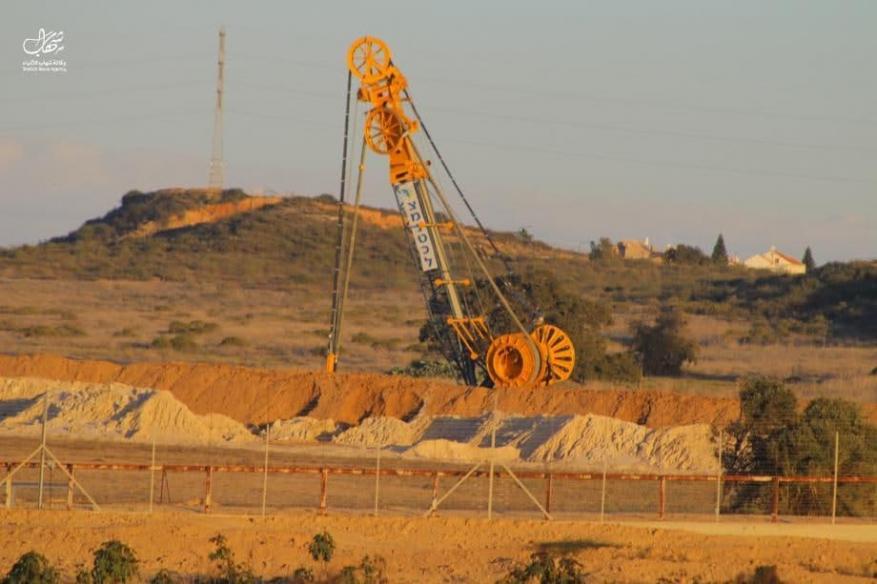 """الاحتلال يعلن اكتمال بناء """"العائق تحت أرضي"""" على حدود غزة"""