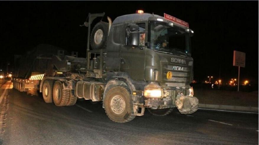 تعزيزات للجيش التركي على حدود سوريا وسط تهديدات أردوغان بشن عملية عسكرية